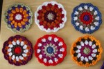 flower & star coasters