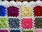 kaleidoscope blanket: the edging