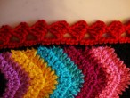 Olé Olé blanket: The edging