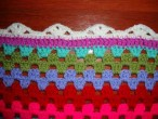 zigzagy blanket: the edging
