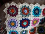 Vintage blanket: The edging