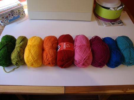 Rainbow ripple: A new WIP on the go…