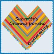 """""""Sucrette's granny poncho cal"""""""