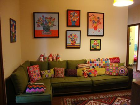 Arts and crafts living room mi rinconcito pinterest for Arts and crafts living room ideas