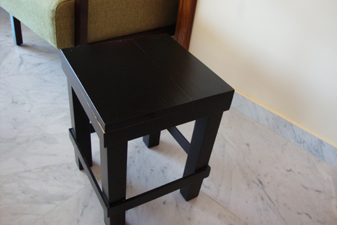 black-stool-before