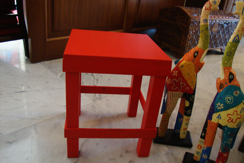 red-stool-1-before