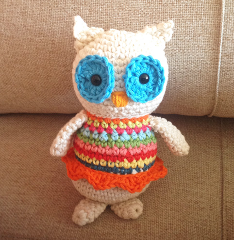 Mrs Lola: the owl