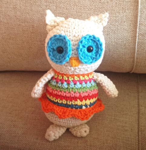 Mrs Lola the owl