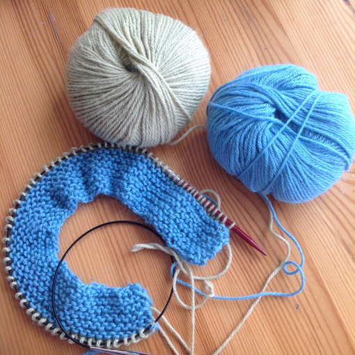 What I am actually KNITTING ♥