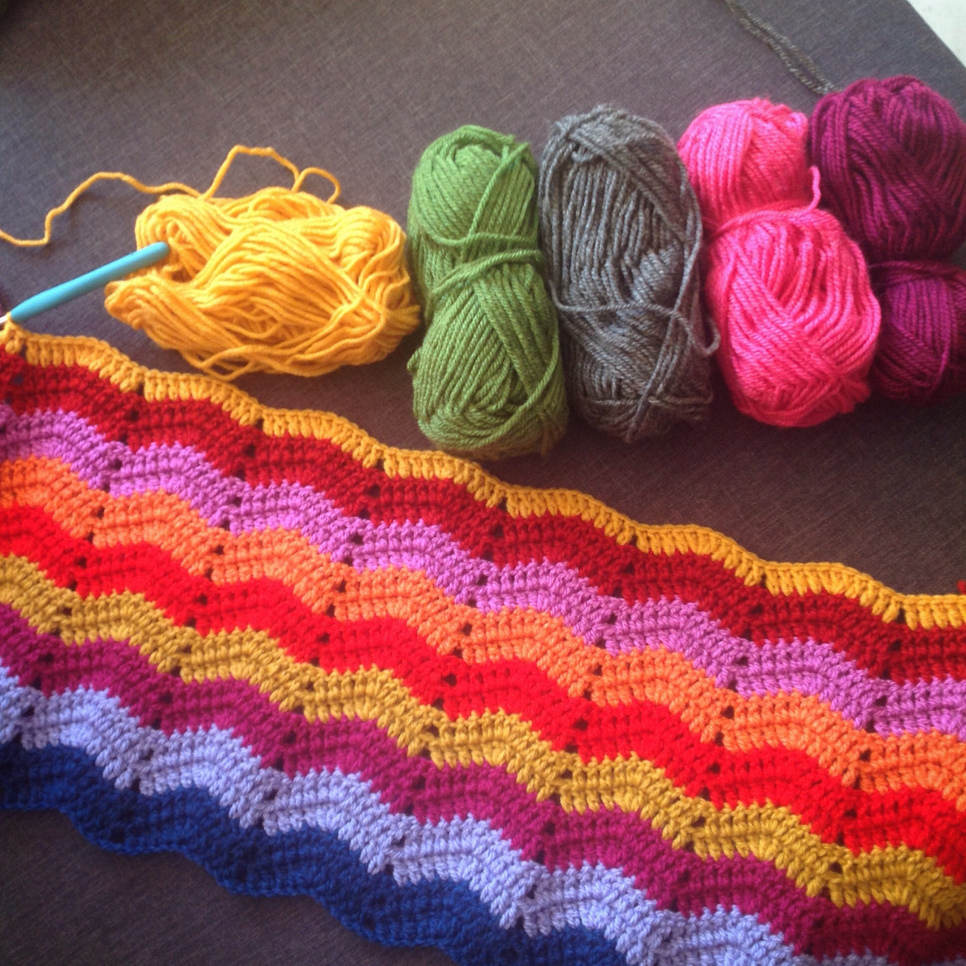 Some of the crochet I've done during these past weeks…