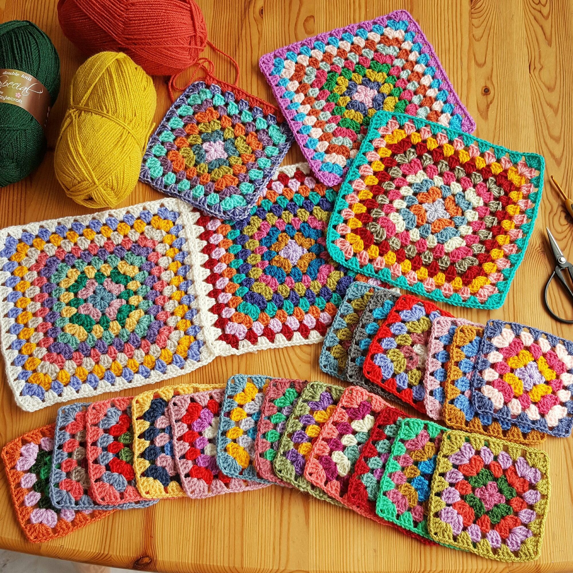 A granny squares love story ❤