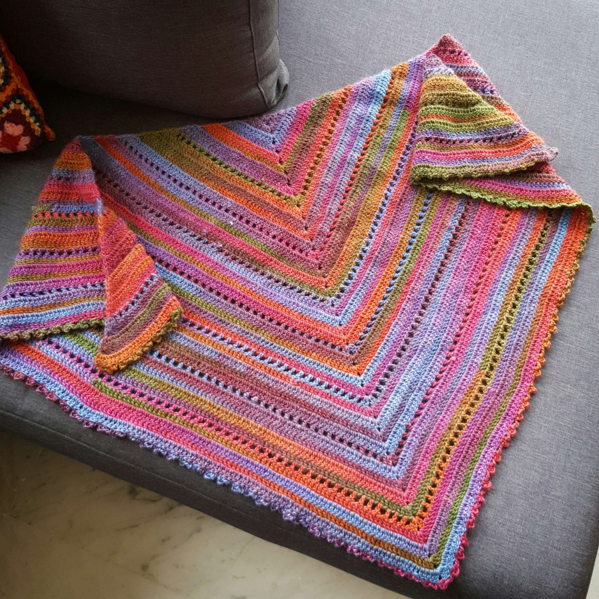 The simple shawl